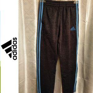 Adidas Black Sweat Track Pants Size 10/12